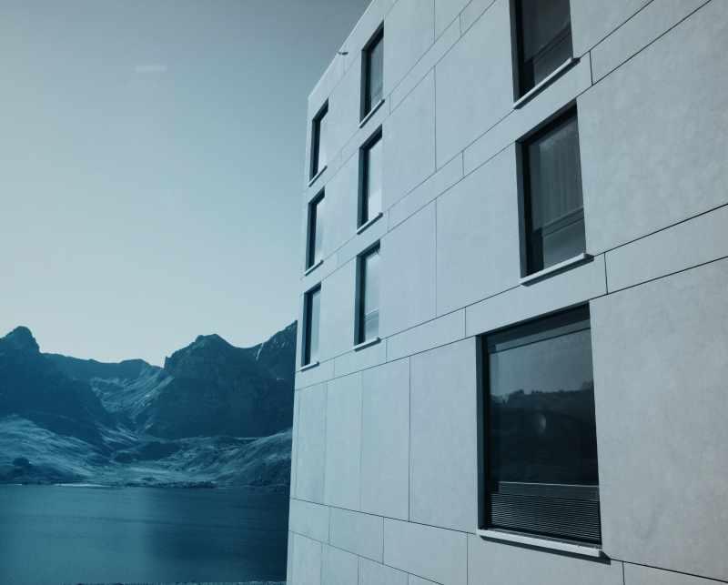 SulserTotal_Fassade_Hotel Frutt Lodge & Spa Melchsee-Frutt, Kerns